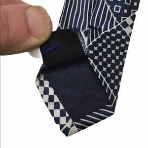 MLB Accessories - MLB New York Yankees Patchwork Silk Tie
